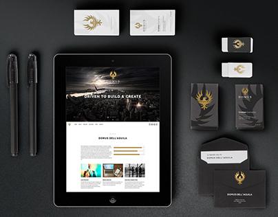 Domus dell'Aquila - Website | Branding
