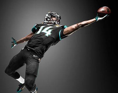 NFL Jacksonville-Jaguars uniform design