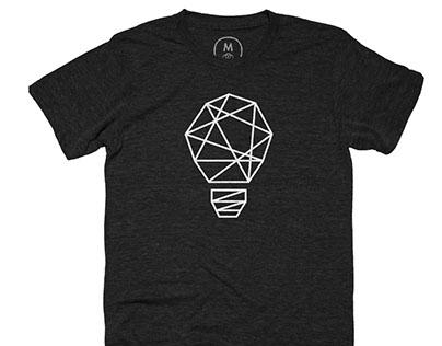 Let there be Light T-shirt Design for Cotton Bureau