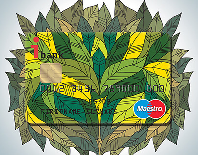 Saatchi Circle application - Debit card and poster