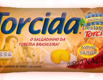 Nova Torcida sabor queijo nacho