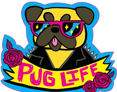 Pug Life Stickers!