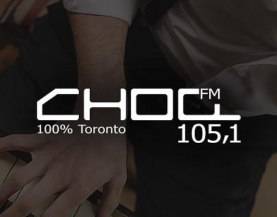 Choq-FM 105.1 - Website