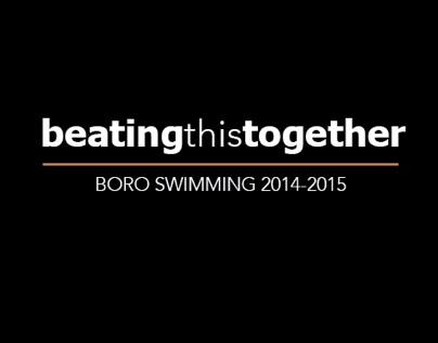 Boro Swims for Brandon