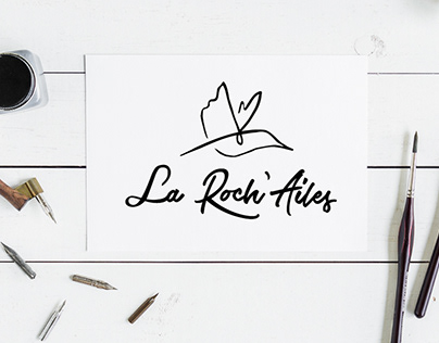 La Roch'Ailes Logo & Web Design