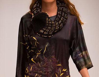 Flexible Clothing, collaboration with Réka Gottlieb