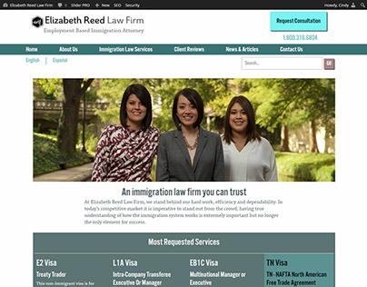 Elizabeth Reed Law Firm Website Redesign