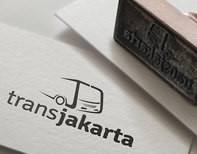 Project Transjakarta Logo, Indonesian Transportation