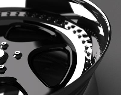 Turbo 2 Piece Racing Wheels