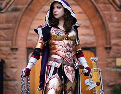 Warhammer 40k Inquisitor Cosplay