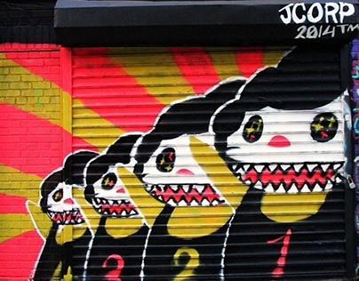 Evergreen Street Mural Project