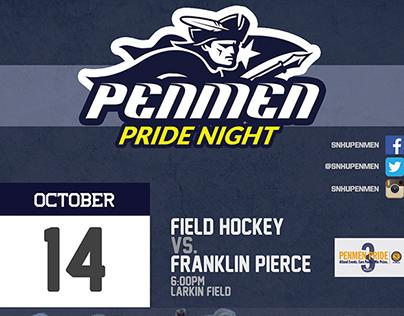 Penmen Pride Night Flyers