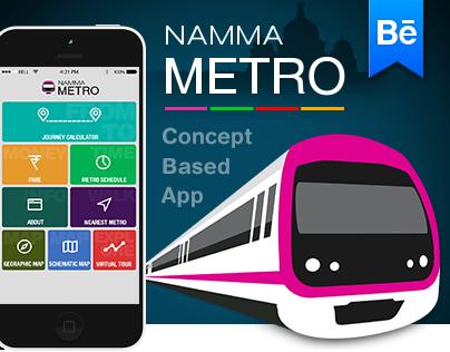 Namma Metro-Concept based App