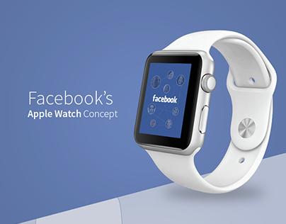 Facebook Apple Watch Concept