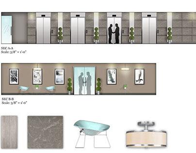 Elevator Lobby Design