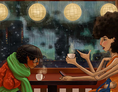 A Day at the Cafe