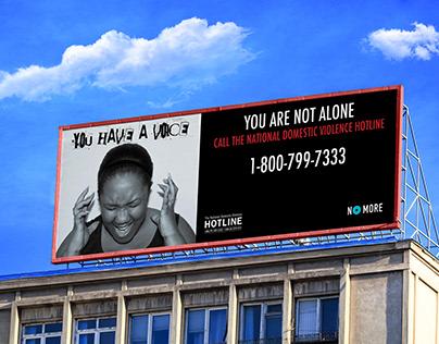 Domestic Violence Ad Campaign