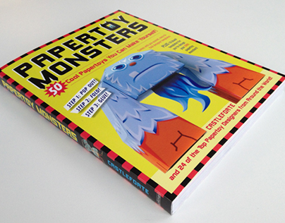 Papertoy Monsters Book by Castleforte