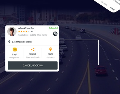 Taxi Mobile Application