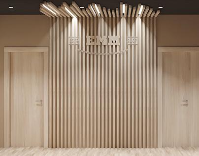 Дизайн главного офиса компании EMM