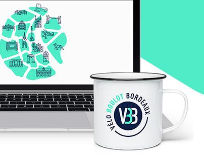 Interactive map - Vélo Boulot Bordeaux