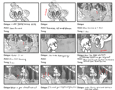 Asterisk Storyboards
