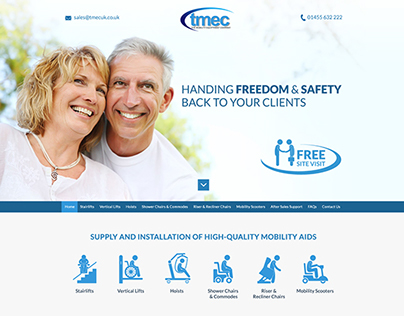 Mobility Company - Web Design