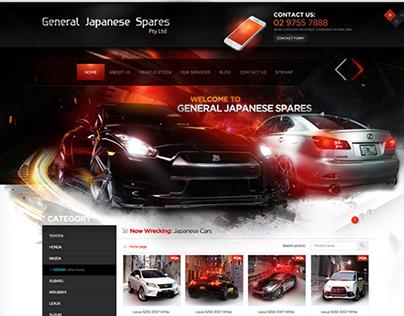 General Japanese Spares website