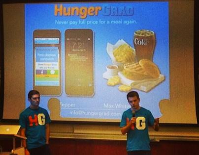 HungerGrad App | USC NVSC Pitchdeck →