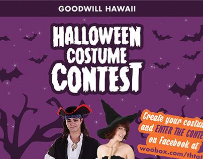 Goodwill Hawaii: Halloween Ads