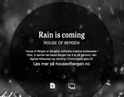 The rainy invite