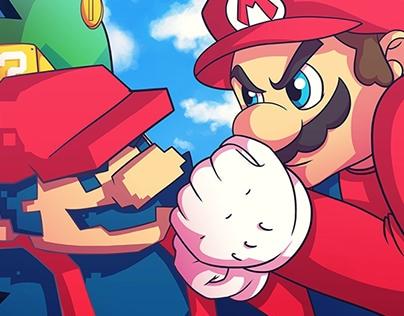 Mario vs Mario