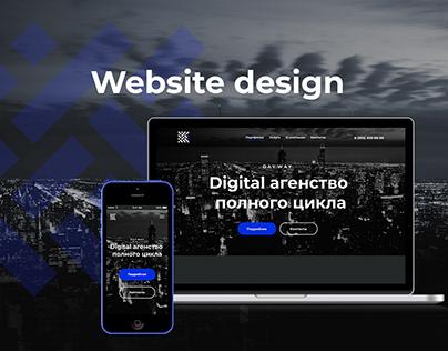 Digital studio website