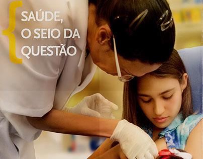 Crefono   Campanha Saúde, o seio da questão