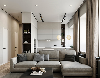 Grey Apartment Reference by Image