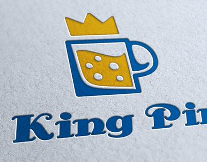 King Pint Logo Template