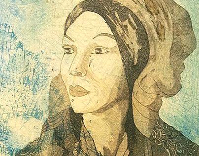 Malla (etching & aquatinta)