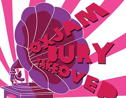 Oxjam Bury Takeover Main Poster