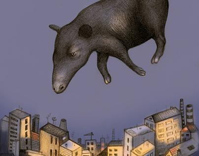 il babau sulla città