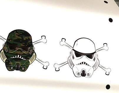 Storm Trooper Stickers