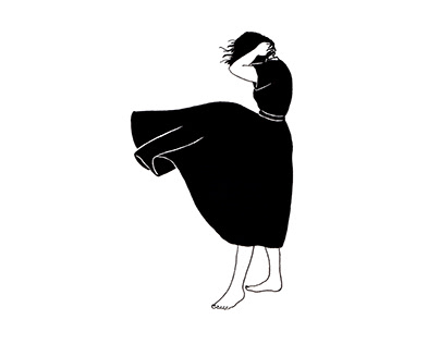 The Woman with the Black Dress