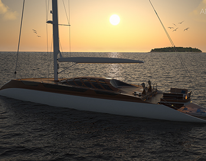 Antares - sailing yacht