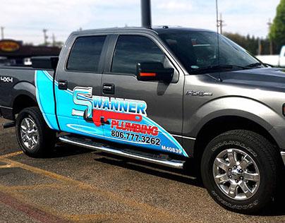 Swanner Plumbing Branding