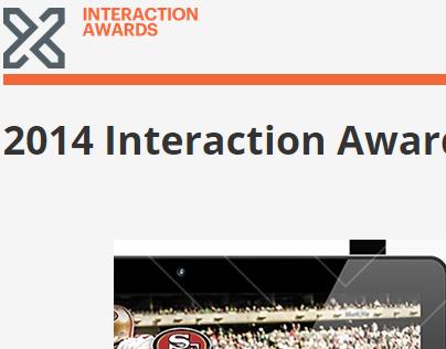 2014 IxDA Award Finalist