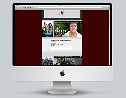 Rivoli Theatre Website Redesign