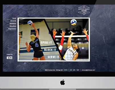 Volleyball House Website