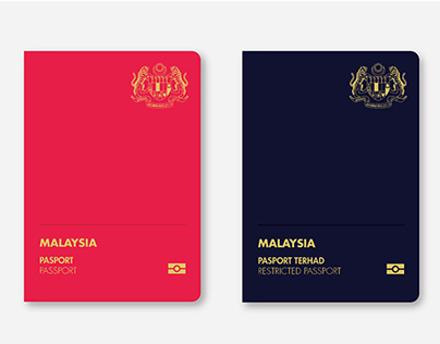 Malaysian Passport (Redesigned)