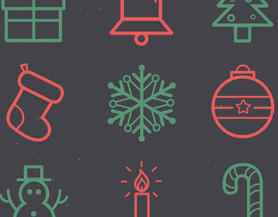 Holiday/Winter Icon Set