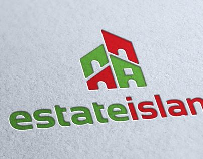 Estate Island Logo Template