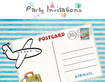 Touching Farewell Party Invitations